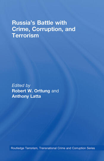 Russia's Battle with Crime, Corruption and Terrorism book cover