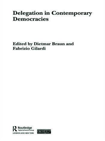 Delegation in Contemporary Democracies book cover