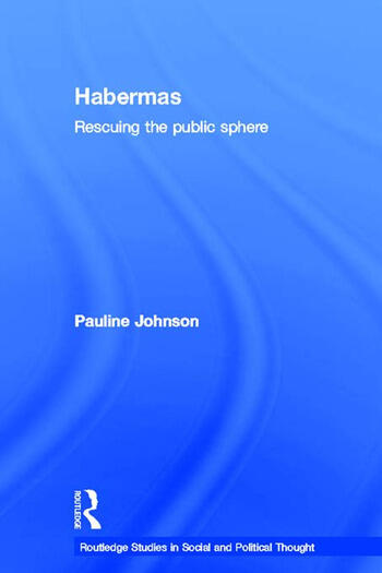 Habermas Rescuing the Public Sphere book cover