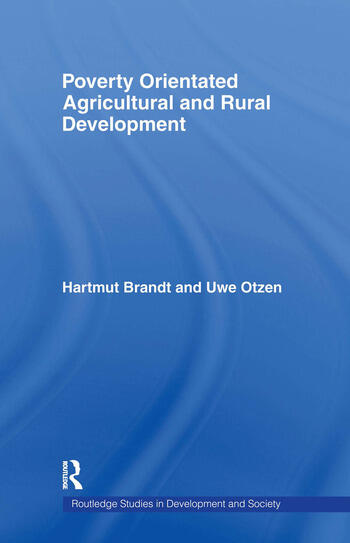 Poverty Orientated Agricultural and Rural Development book cover