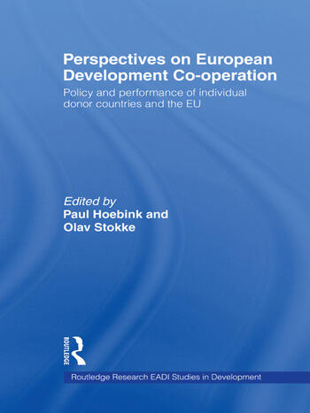 Perspectives on European Development Cooperation Policy and Performance of Individual Donor Countries and the EU book cover