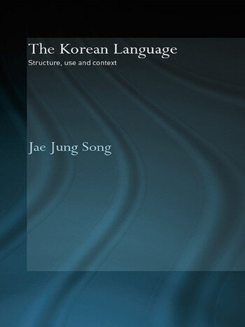 The Korean Language Structure, Use and Context book cover