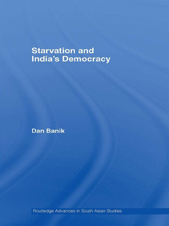 Starvation and India's Democracy book cover