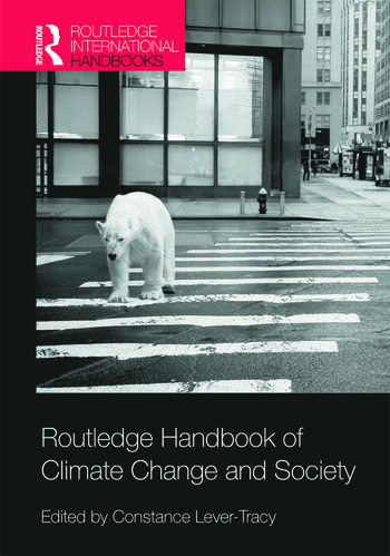 Routledge Handbook of Climate Change and Society book cover