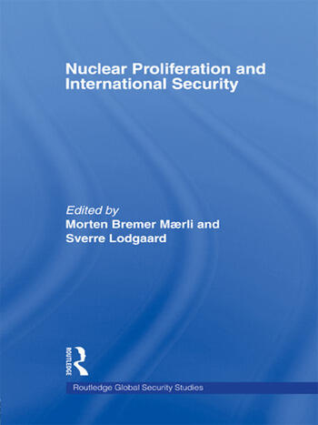 Nuclear Proliferation and International Security book cover