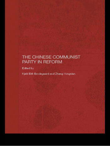 The Chinese Communist Party in Reform book cover