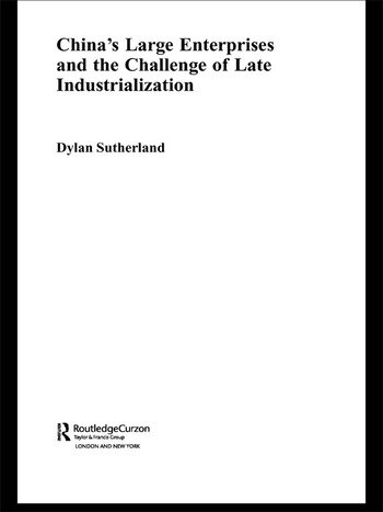 China's Large Enterprises and the Challenge of Late Industrialisation book cover