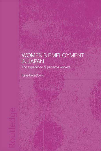 Women's Employment in Japan The Experience of Part-time Workers book cover