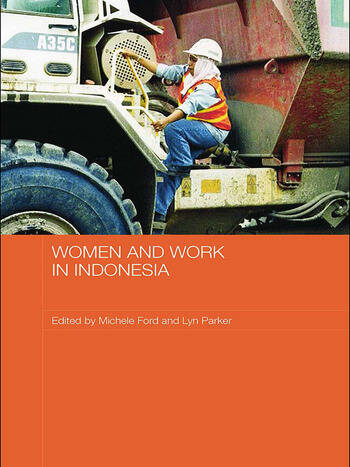 Women and Work in Indonesia book cover