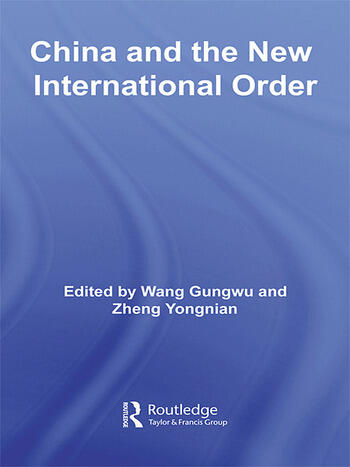 China and the New International Order book cover