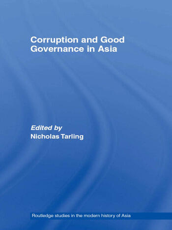 Corruption and Good Governance in Asia book cover