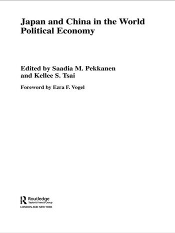 Japan and China in the World Political Economy book cover