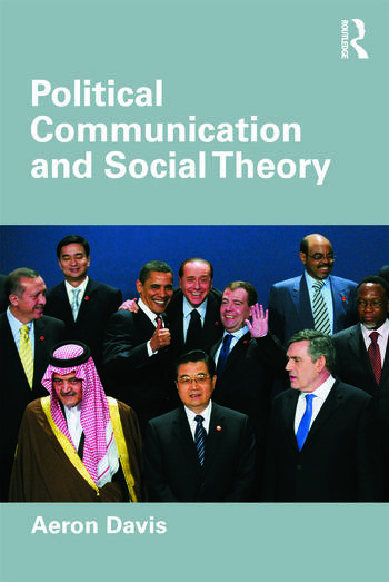 Political Communication and Social Theory book cover