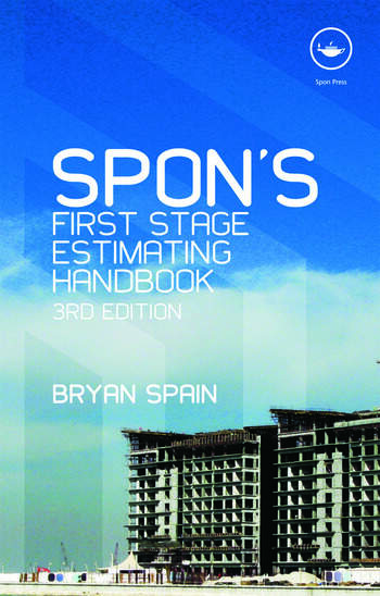 Spon's First Stage Estimating Handbook book cover