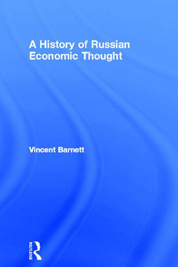 A History of Russian Economic Thought book cover