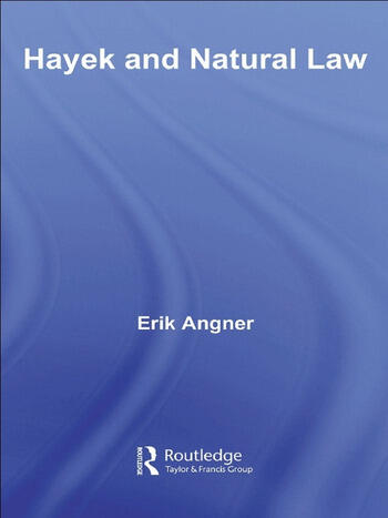 Hayek and Natural Law book cover