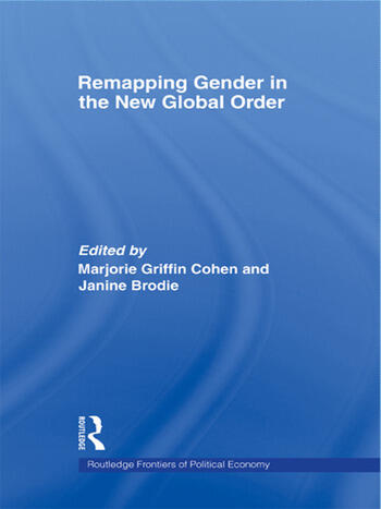 Remapping Gender in the New Global Order book cover