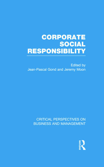 Corporate Social Responsibility book cover