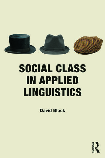 Social Class in Applied Linguistics book cover