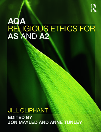 AQA Religious Ethics for AS and A2 book cover
