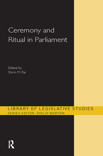 Ceremony and Ritual in Parliament book cover