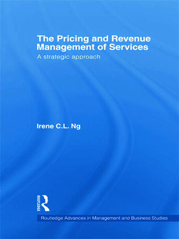 The Pricing and Revenue Management of Services A strategic approach book cover