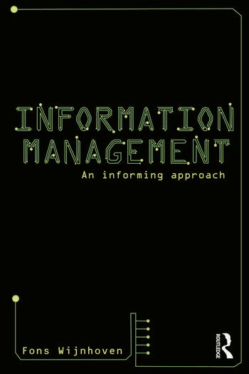 Information Management An Informing Approach book cover