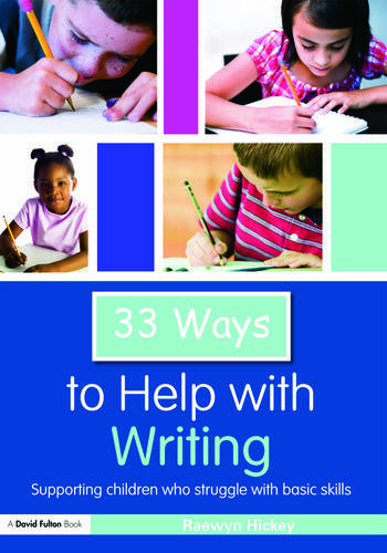 33 Ways to Help with Writing Supporting Children who Struggle with Basic Skills book cover