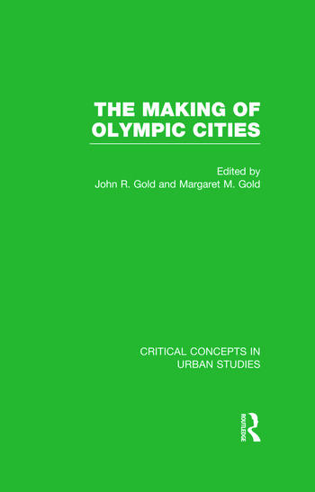 The Making of Olympic Cities book cover