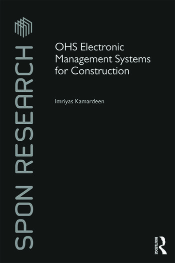 OHS Electronic Management Systems for Construction book cover