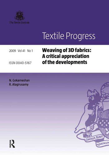 Weaving of 3D Fabrics A Critical Appreciation of the Developments book cover