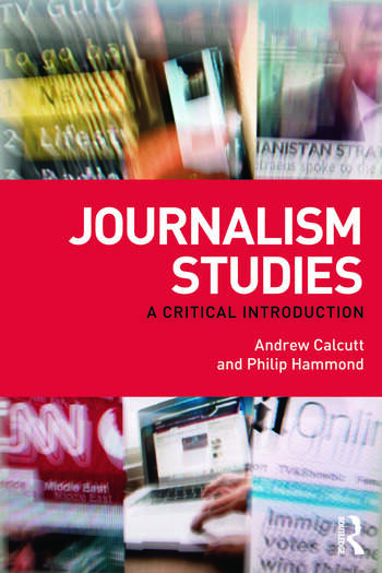 Journalism Studies A Critical Introduction book cover