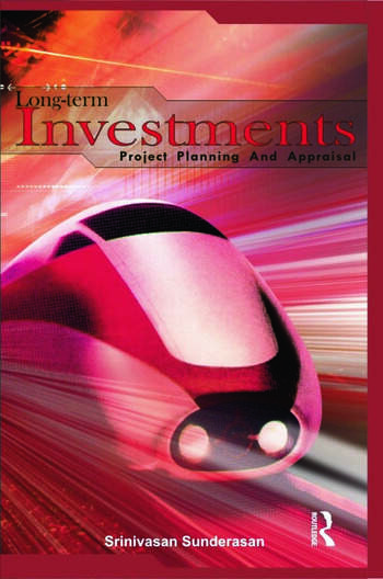 Long-Term Investments Project Planning and Appraisal book cover