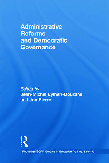 Administrative Reforms and Democratic Governance book cover