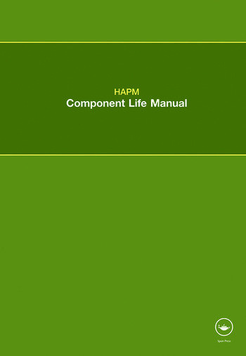 HAPM Component Life Manual book cover