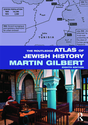 The Routledge Atlas of Jewish History book cover