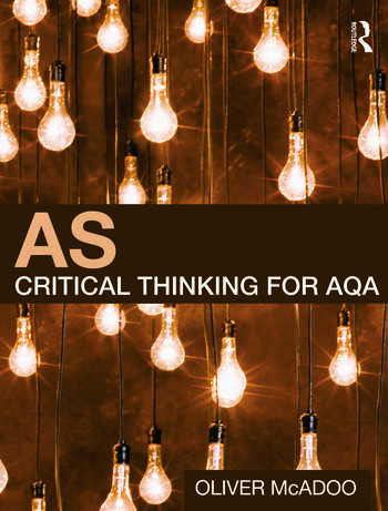 AS Critical Thinking for AQA book cover