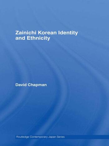 Zainichi Korean Identity and Ethnicity book cover