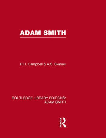 Adam Smith book cover