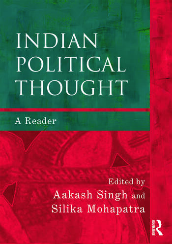 Indian Political Thought A Reader book cover