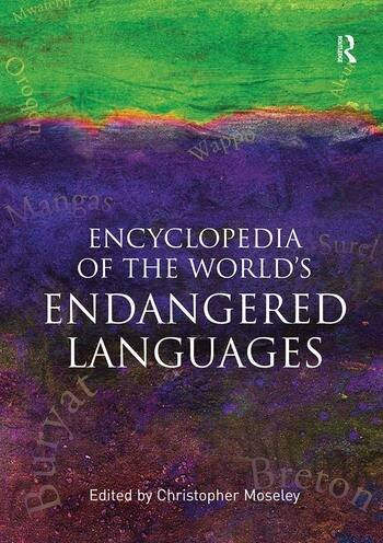Encyclopedia of the World's Endangered Languages book cover
