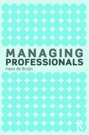 Managing Professionals book cover