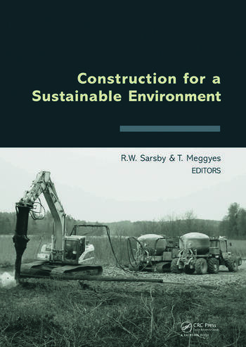 Construction for a Sustainable Environment book cover