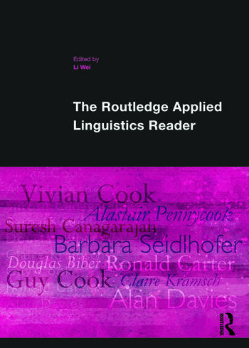 The Routledge Applied Linguistics Reader book cover
