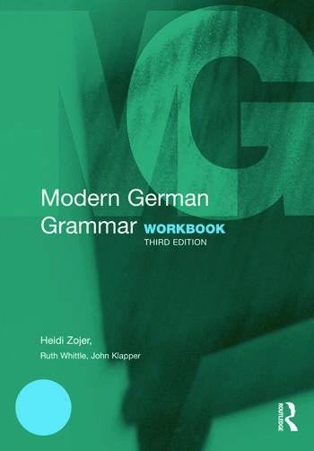 Modern German Grammar Workbook book cover