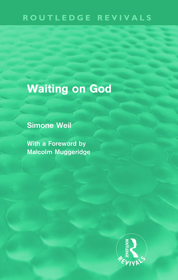 Waiting on God (Routledge Revivals) book cover