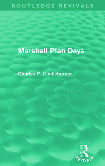 Marshall Plan Days (Routledge Revivals) book cover