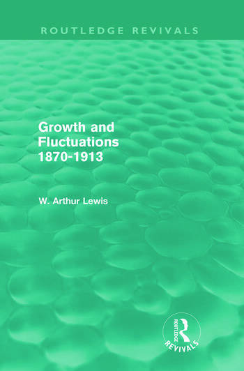 Growth and Fluctuations 1870-1913 (Routledge Revivals) book cover