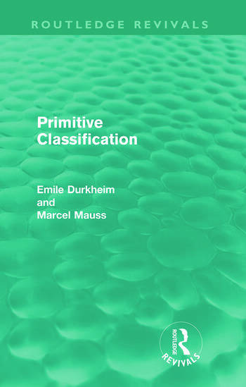 Primitive Classification (Routledge Revivals) book cover