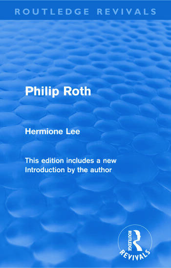 Philip Roth (Routledge Revivals) book cover